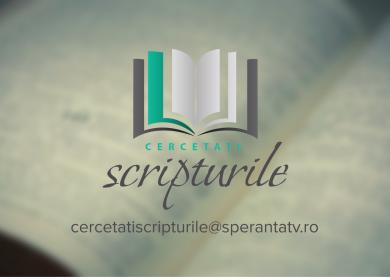 Cercetati Scripturile - mail